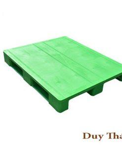Closed deck hygienic plastic pallet for medical 247x296 - Pallet nhựa cũ 3 chân 1000 X 1200 X 150mm