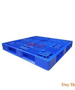 Pallet nhua PL16Lk 1 247x296 - Pallet nhựa 1100 x 1100 x 150 mm
