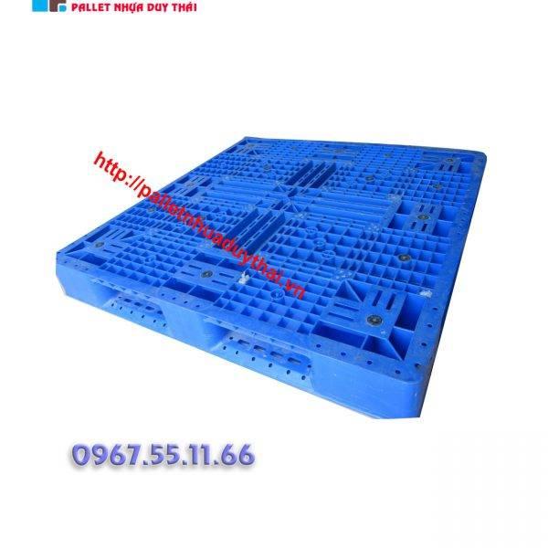 pallet 10 600x600 1 - Pallet nhựa 1100 x 1300 x 150mm