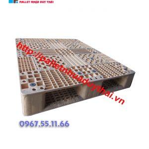 pallet 8 1 300x300 - Pallet nhựa cũ 1000 x 1200 x 150 mm