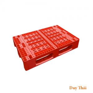 pallet nhua 7867 384.75x285 300x300 - Pallet nhựa 1100 x 1100 x 150 mm