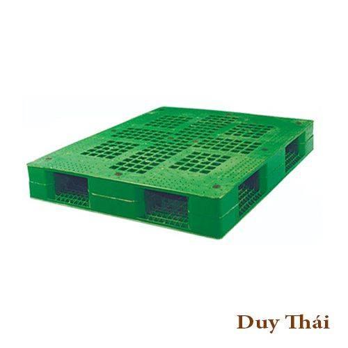 pallet nhua sg1210g01231 - Dòng pallet nhựa 1100x1100x150mm ở đâu bán giá rẻ ?