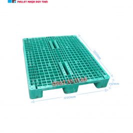 pallet 3 chan 1200x1100x150 266x266 - Pallet nhựa cũ 3 chân 1000 X 1200 X 150mm