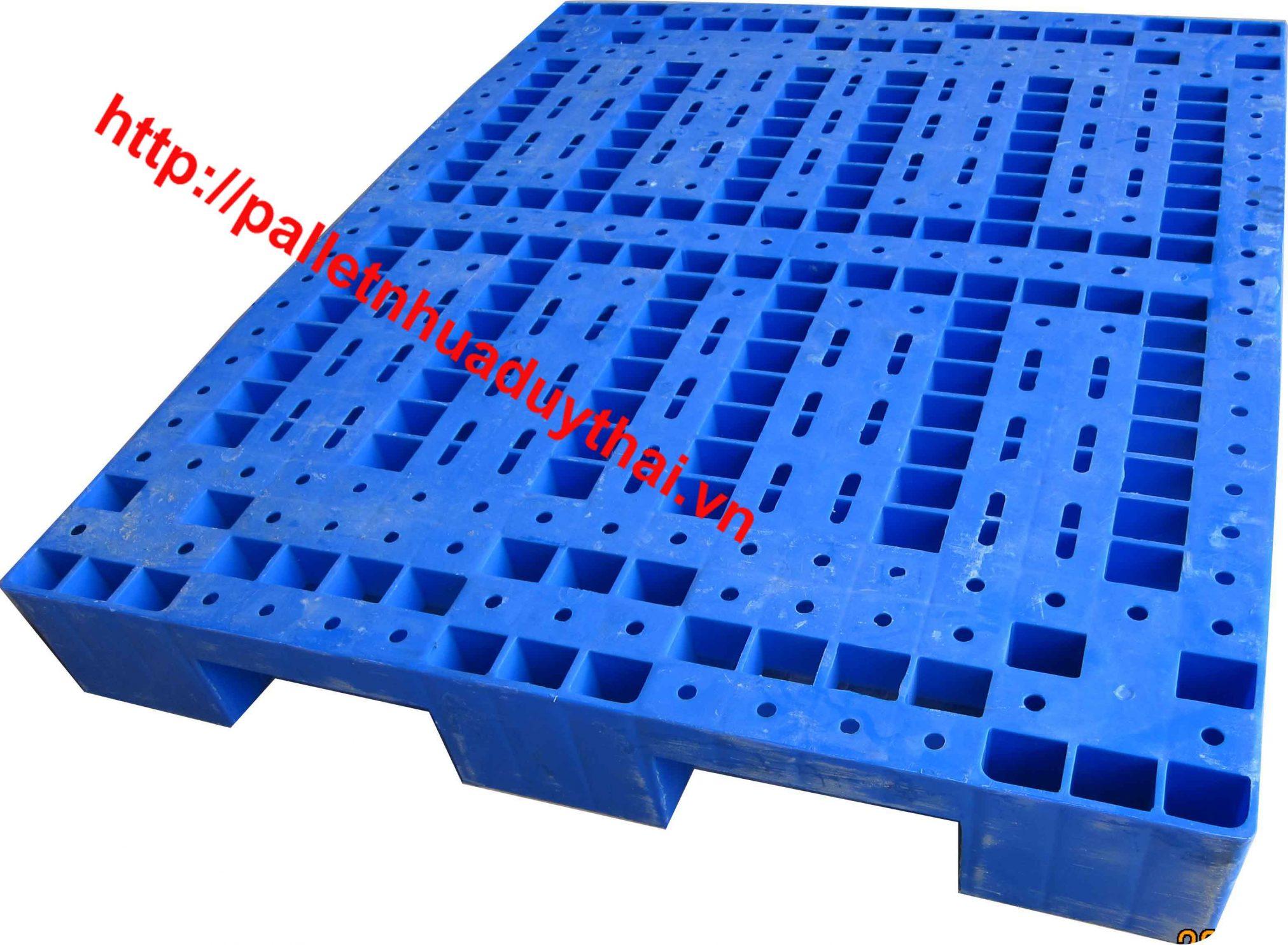 Pallet nhựa 2 mặt liệu có dùng bền hơn loại 1 mặt không ?