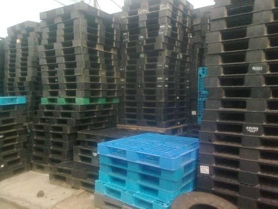 hicc80nh0334 - Bán pallet nhựa 1100x1100x120mm cũ tại Hà Nội