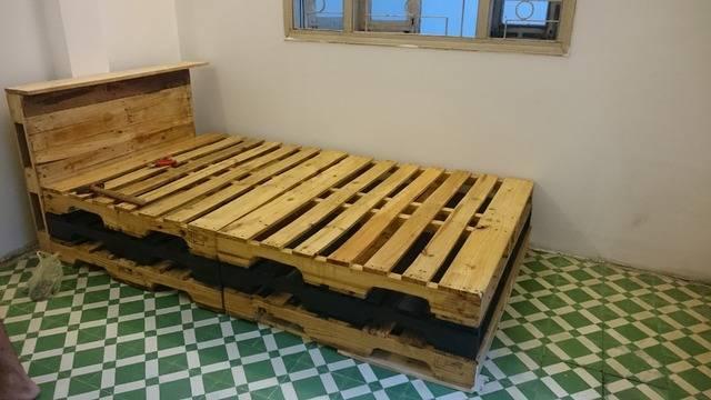 DSC 2496 - 10 mẫu pallet gỗ làm giường đẹp mà chắc chắn nhất 2019