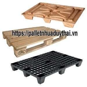 pallet 300x300 - Pallet để hàng nên chọn pallet nhựa hay gỗ hay sắt thì phù hợp ?