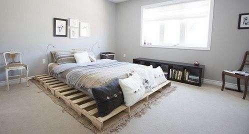 pallet ke giuong 5 - Pallet kê giường nên dùng pallet gỗ , nhựa hay sắt thì tốt ?