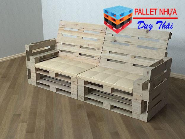 pallet sofa 2 - Top 10 mẫu pallet sofa đơn giản mà đẹp cho phòng khách