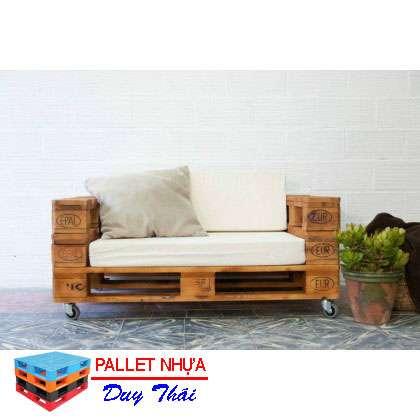 pallet sofa 3 - Top 10 mẫu pallet sofa đơn giản mà đẹp cho phòng khách