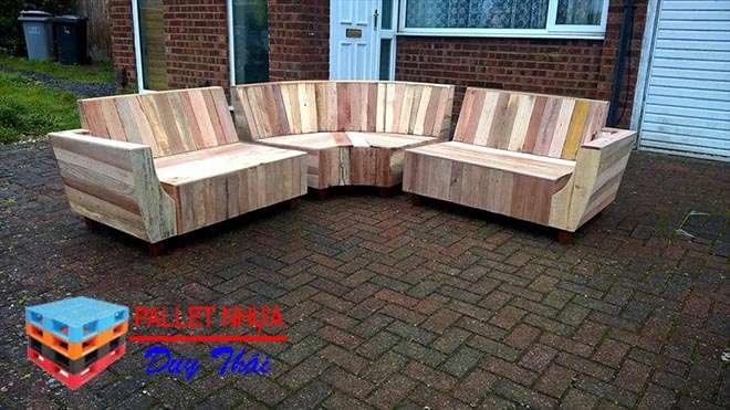 pallet sofa 5 - Top 10 mẫu pallet sofa đơn giản mà đẹp cho phòng khách