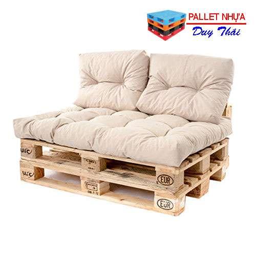 pallet sofa 6 - Top 10 mẫu pallet sofa đơn giản mà đẹp cho phòng khách